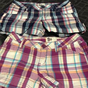Pants - 2 pair So shorts size 5 - 1 price
